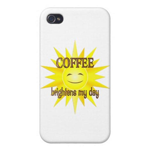 El café aclara iPhone 4/4S carcasa