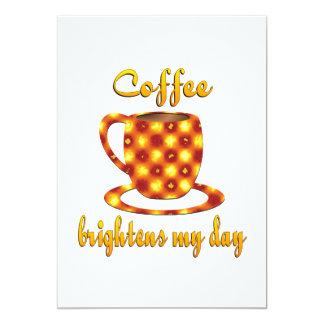 El café aclara mi día comunicado personalizado