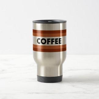 el café alinea al viajero taza térmica