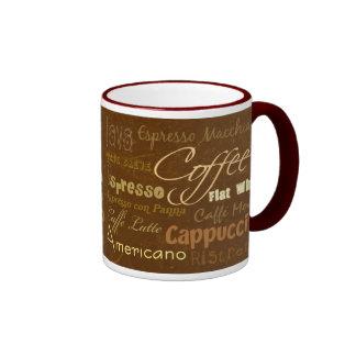 El café bebe la taza