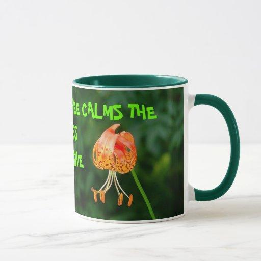 El café calma .............