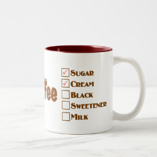 El café con y el azúcar la leche de la mamá hicier taza