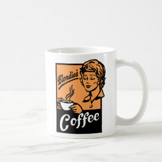 El café de Blondie Taza De Café