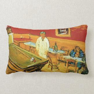 El café de la noche de Vincent van Gogh Cojin
