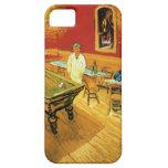 El café de la noche de Vincent van Gogh iPhone 5 Protectores