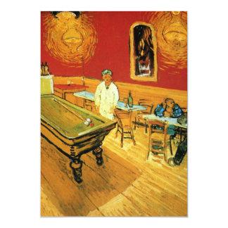 El café de la noche de Vincent van Gogh Comunicados Personales