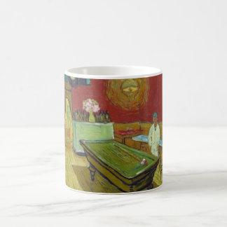 El café de la noche - Van Gogh Taza Básica Blanca