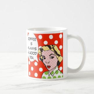 El café del arte pop es siempre una buena taza de