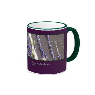 El café del brezo y la taza del té cerca gretchen