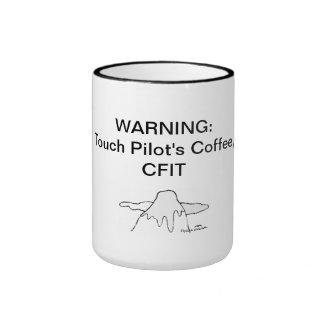 El café del piloto del tacto, CFIT (siglas) Taza A Dos Colores