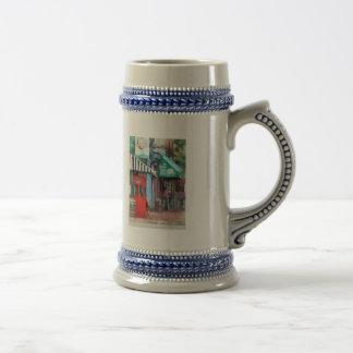 El café derriba el MD del punto Tazas