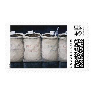 El café despide 1990 sellos