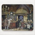 El café en Roma, 1856 Alfombrillas De Ratones