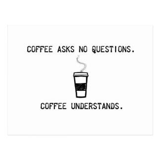 El café entiende postales