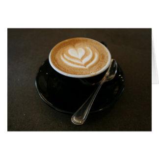 El café es amor - notecard