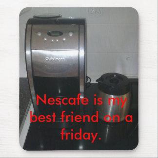 El café es bueno tapete de ratón