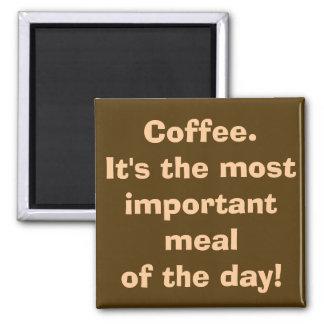 El café es el imán más importante de la comida
