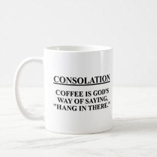 """El café es la manera de dios de decir """"caída en al tazas de café"""