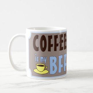 El café es mi BFF Tazas De Café