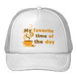 El café es mi época preferida del día gorras de camionero