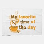 El café es mi época preferida del día toallas de cocina
