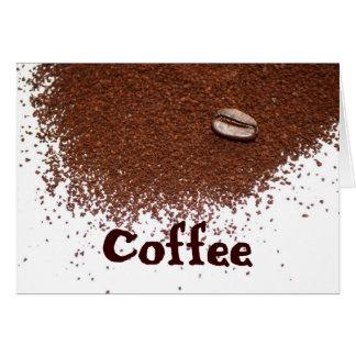 El café es mi grieta tarjeta de felicitación