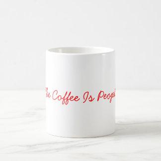 El café es taza de la gente