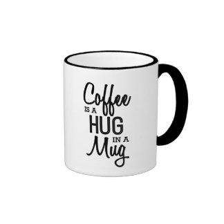 El café es un abrazo en una taza