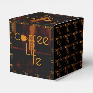 El café es vida cajas para regalos de boda