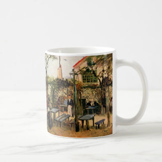 El café exterior - Vincent van Gogh Taza Clásica