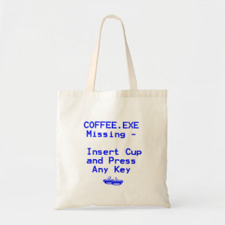 ¡El café falta! Bolsa De Mano