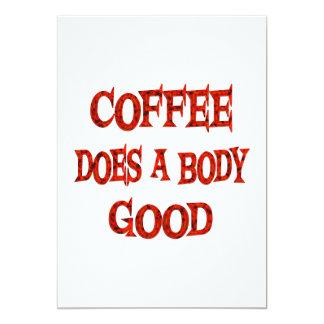 El café hace bueno anuncios