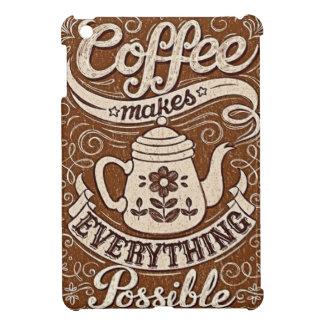 el café hace todo la cubierta posible