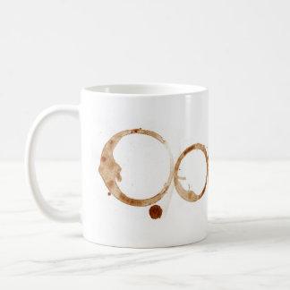 El café mancha la taza