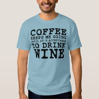 El café me guarda el ir hasta el vino camisas