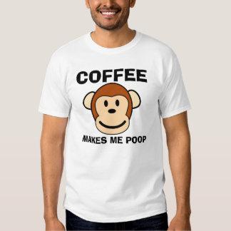 El café me hace el impulso, camisetas poleras