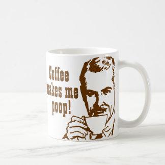 ¡El café me hace impulso Taza