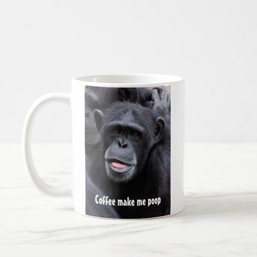El café me hace impulso taza clásica