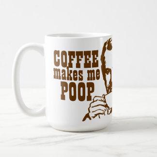 ¡El café me hace impulso! Taza De Café