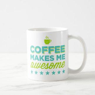 El café me hace las tazas impresionantes