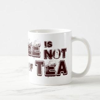 El café no es mi taza de té