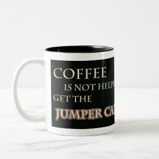 El café no está ayudando consigue los cables de pu tazas