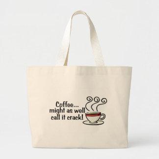 El café pudo también llamarlo la grieta 3 bolsa