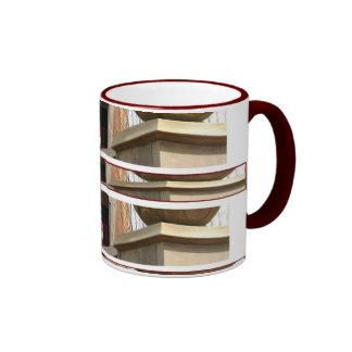El café y el té del Lamppost de la escalera Taza De Dos Colores