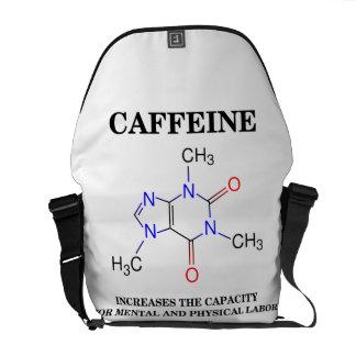 El cafeína aumenta el trabajo mental de la comprob bolsa messenger