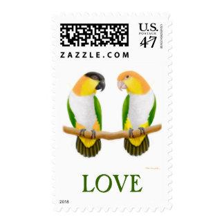 El caique del amor repite mecánicamente franqueo timbre postal