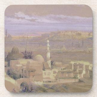 El Cairo de la puerta de Citizenib, mirando hacia Posavasos De Bebida