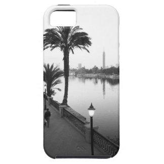 El Cairo Egipto, a lo largo del río Nilo iPhone 5 Funda