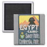 El Cairo Egipto - arte del poster del viaje del vi Imán Para Frigorifico
