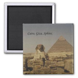 El Cairo, Giza, la esfinge (St.K.) Imán Cuadrado
